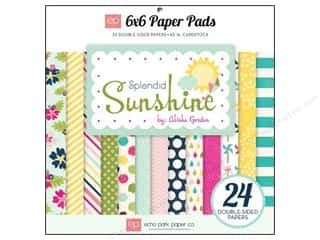Echo Park Paper Pad 6 x 6 in. Splendid Sunshine