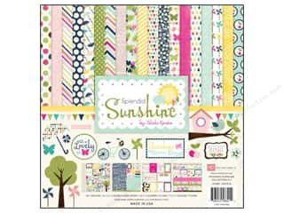 Echo Park 12 x 12 in. Splendid Sunshine Collection Kit
