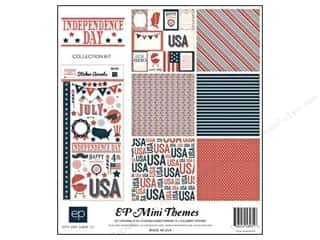Independence Day Stickers: Echo Park 12 x 12 in. Independence Day Collection Kit
