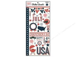 "Independence Day $6 - $10: Echo Park Sticker Independence Day 6""x 12"" (15 sets)"