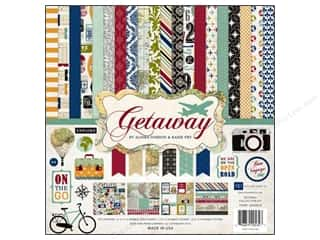 Clearance Echo Park Collection Kit: Echo Park 12 x 12 in. Getaway Collection Kit