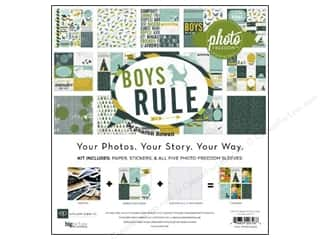 Echo Park 12 x 12 in. Boy's Rule Collection Kit