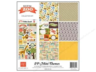 Echo Park 12 x 12 in. Day At The Zoo Collection Kit