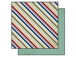 Echo Park 12 x 12 in. Paper Getaway Travel Stripe (25 piece)