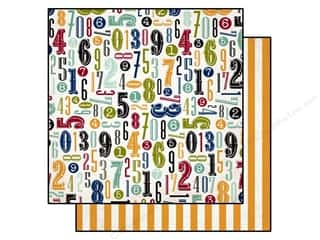 Echo Park 12 x 12 in. Paper Getaway Numbers (25 piece)