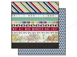 Echo Park 12 x 12 in. Paper Getaway Border Strips (25 piece)