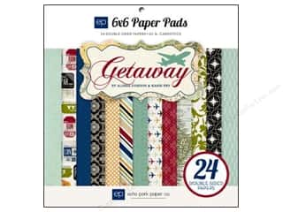 Echo Park Paper Company Angels/Cherubs/Fairies: Echo Park Paper Pad 6 x 6 in. Getaway