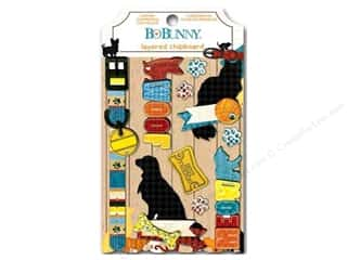 Bo Bunny Sticker Happy Tails Chipboard Layered