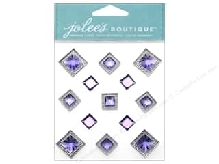 EK Success EK Jolee's Stickers: Jolee's Boutique Stickers Pyramid Gem Amethyst