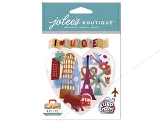 Vacations $3 - $4: Jolee's Boutique Stickers Europe