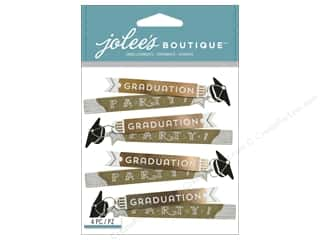 EK Success Dimensional Stickers: Jolee's Boutique Stickers Graduation Party Repeat