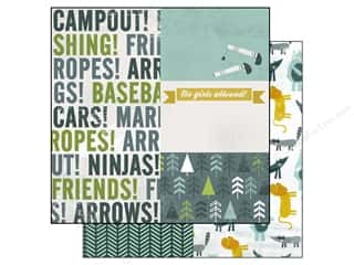 Echo Park Paper 12x12 Boy's Rule Campout (15 piece)