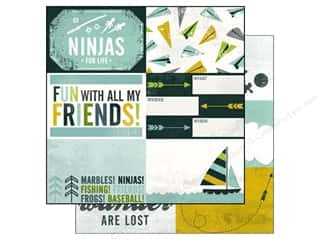 Echo Park Paper 12x12 Boy's Rule Ninjas (15 piece)