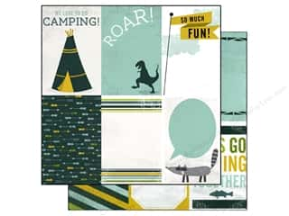 Brothers $4 - $6: Echo Park 12 x 12 in. Paper Boys Rule Collection Roar (15 pieces)