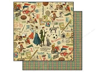 Graphic 45 Paper 12x12 Good Ol' Sport All Star (25 piece)