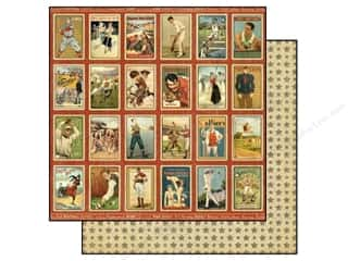 Graphic 45 Paper 12x12 Good Ol' Sport Champion (25 piece)