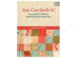 Quilting: You Can Quilt It! Book