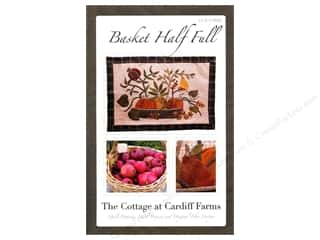 Fall / Thanksgiving Books & Patterns: The Cottage At Cardiff Farms Basket Half Full Pattern