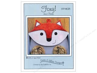 Susie C Shore Designs $4 - $5: Susie C Shore Foxy! Hot Pads Pattern