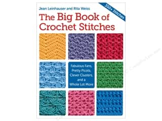 crochet books: The Big Book Of Crochet Stitches Book