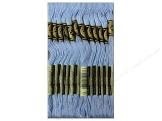 DMC Floss: DMC Six-Strand Embroidery Floss #157 Very Light Cornflower Blue (12 skeins)