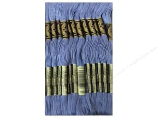 Yarn & Needlework: DMC Six-Strand Embroidery Floss #160 Medium Grey Blue (12 skeins)