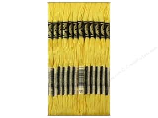 Floss DMC Six Strand Embroidery Floss: DMC Six-Strand Embroidery Floss #726 Light Topaz (12 skeins)