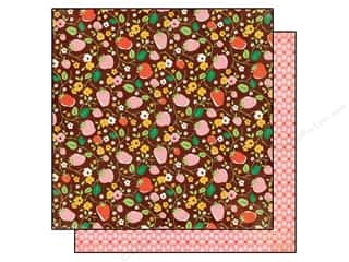 BasicGrey 12 x 12 in. Paper Herbs & Honey Strawberry (25 piece)