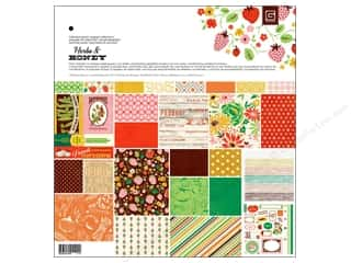 Fruit & Vegetables Basic Components: BasicGrey Collection Pack 12 x 12 in. Herbs & Honey