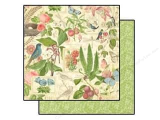 Graphic 45 Paper 12x12 Botanical Tea Spring Duet (25 piece)