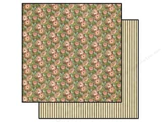 Sale Brown: Graphic 45 Paper 12x12 Botanical Tea Field Of Flowers (25 pieces)