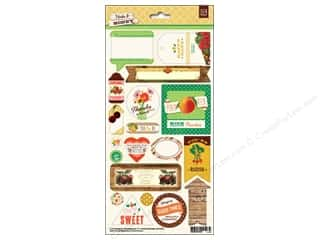 BasicGrey Title Stickers Herbs & Honey