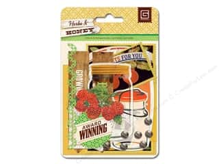 BasicGrey Die-Cuts & Transparencies Herbs & Honey