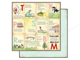 Carta Bella 12 x 12 in. Paper Nursery Rhymes (25 piece)