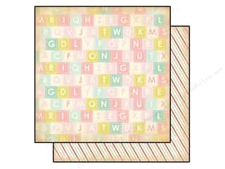 Carta Bella 12 x 12 in. Paper Alphabet Soup (25 piece)