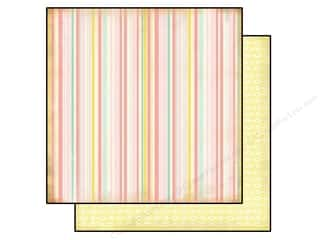Carta Bella 12 x 12 in. Paper Girl Stripe (25 piece)