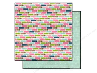 Carta Bella ABC & 123: Carta Bella 12 x 12 in. Paper Sew Lovely Arrows (25 sheets)