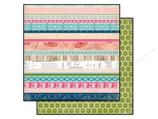 Carta Bella Paper 12x12 Sew Lovely Border Strips (25 piece)