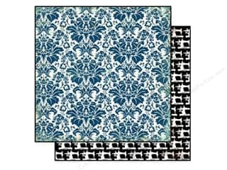 Carta Bella 12 x 12 in. Paper Darling Damask (25 piece)