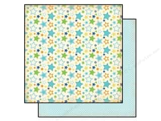 Brothers Size: Carta Bella 12 x 12 in. Paper Baby Mine Boy Stars (25 pieces)
