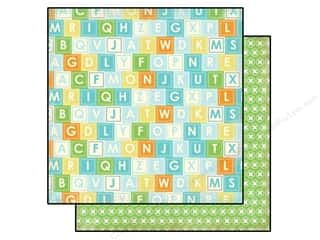 Carta Bella Paper 12x12 Baby Mine Boy Alpha Blocks (25 piece)