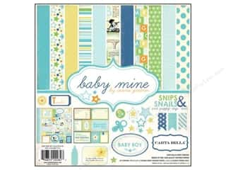 Carta Bella Carta Bella Collection Kit: Carta Bella Collection Kit 12 x 12 in. Baby Mine Boy