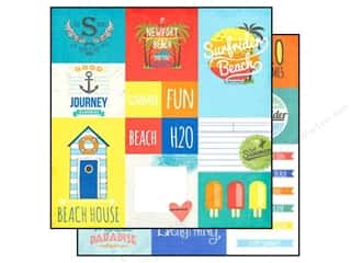 Simple Stories Paper 12x12 Summer Pdise Element #2 (25 piece)