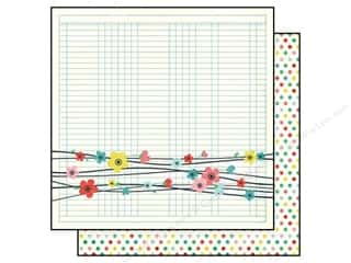 Simple Stories Paper 12x12 Fresh Air Pretty Flower (25 piece)