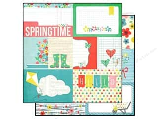 Simple Stories Paper 12x12 Fresh Air Journal #1 (25 piece)