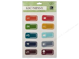 Brads paper dimensions: K&Company Metal Art Tim Coffey Travel Clips