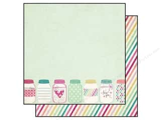 Clearance Blumenthal Favorite Findings: Simple Stories Paper 12x12 Hey Mom Lovely (25 piece)
