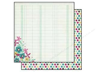 "Mother's Day Flowers: Simple Stories Paper 12""x 12"" Hey Mom Beautiful (25 pieces)"