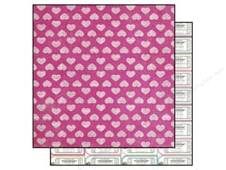"Mothers Clearance Crafts: Simple Stories Paper 12""x 12"" Hey Mom Sweetheart (25 pieces)"