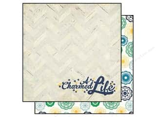 Simple Stories Paper 12x12 Charmed Lucky You (25 piece)